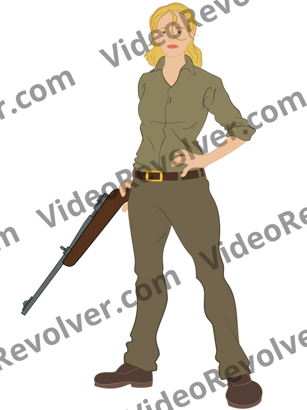 female-survivalist